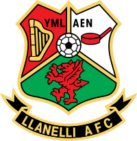 Llanelli Association Football Club Carmartenshire
