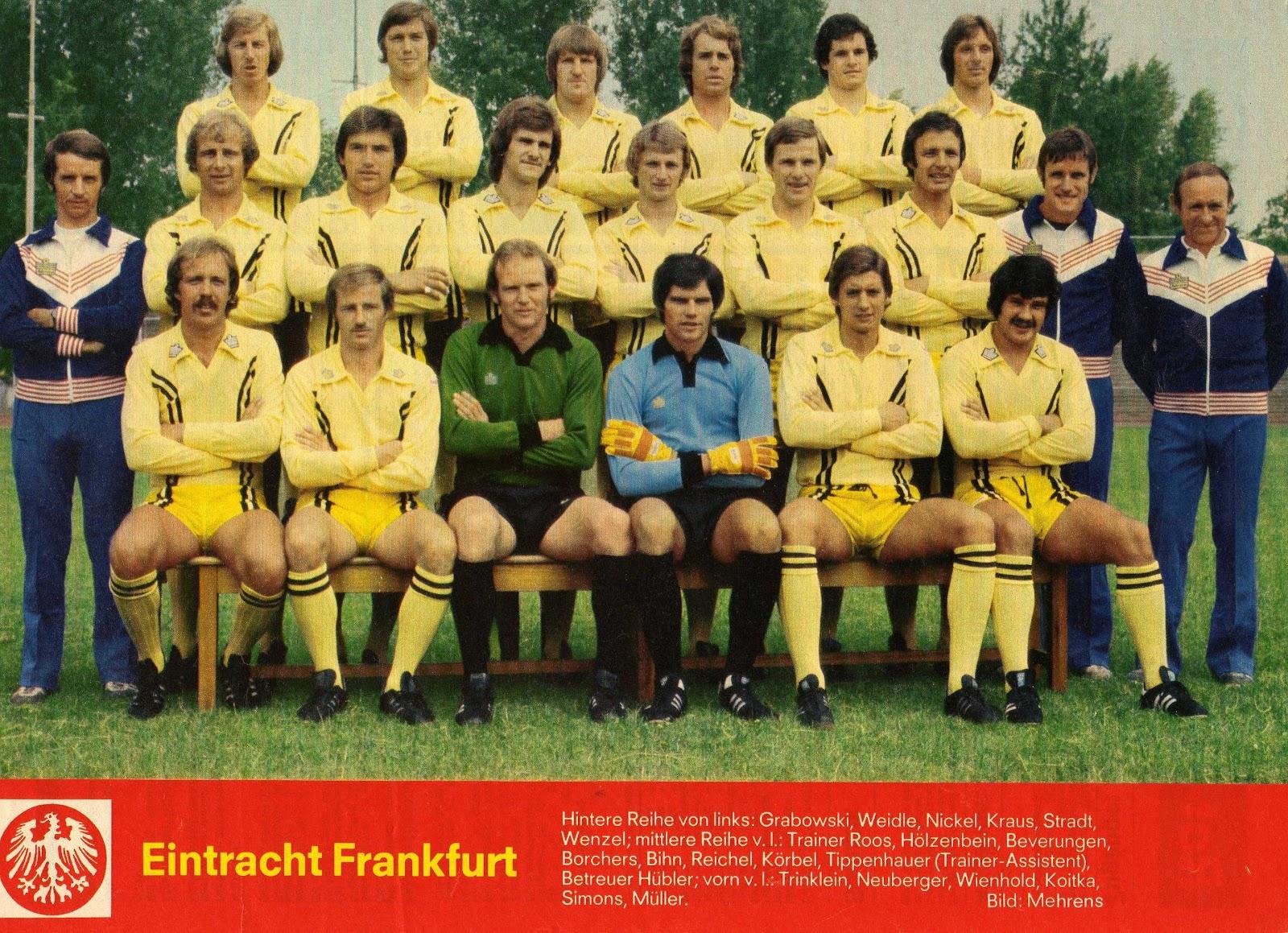 Mannschaftsinfo: Sportgemeinde Eintracht Frankfurt