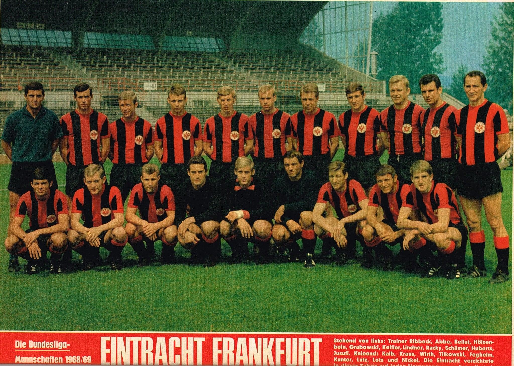 1 FC Nürnberg Mannschaftskarte 1968-69 TOP
